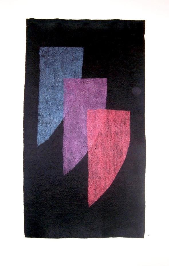 Pat Dixon Textiles A Harmonious Trio