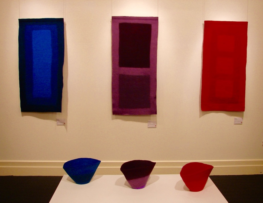 Colour Field hangings and vessels